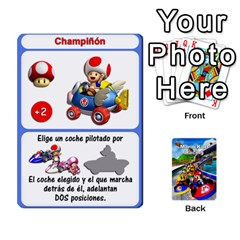 Mario Kart Racing Reedit Huan Solo Y Yun By Roger Orellana   Playing Cards 54 Designs   Qm9tq01aki19   Www Artscow Com Front - Club9
