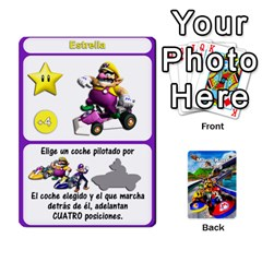 Mario Kart Racing Reedit Huan Solo Y Yun By Roger Orellana   Playing Cards 54 Designs   Qm9tq01aki19   Www Artscow Com Front - Joker1