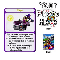 Mario Kart Racing Reedit Huan Solo Y Yun By Roger Orellana   Playing Cards 54 Designs   Qm9tq01aki19   Www Artscow Com Front - Joker2