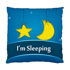 I m Sleeping By Divad Brown   Standard Cushion Case (two Sides)   Bmea0ep0x4tx   Www Artscow Com Back