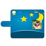 star night - Apple iPhone 4/4S Leather Folio Case