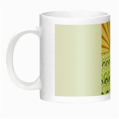 Along The Green Waves Glow In The Dark Mug by tees2go