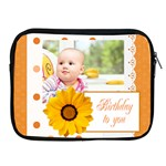 happy birthday - Apple iPad 2/3/4 Zipper Case