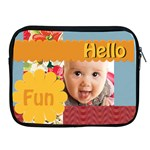 Apple iPad 2/3/4 Zipper Case