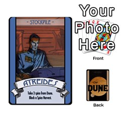Coup   Dune By Ajax   Playing Cards 54 Designs   I4s3d8l0qpde   Www Artscow Com Front - Spade3