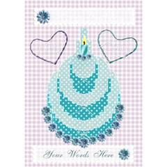 J taime Happy Birthday 3d Card In Aqua By Claire Mcallen   Birthday Cake 3d Greeting Card (7x5)   00g6n2s1ftzj   Www Artscow Com Inside
