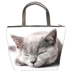 Cat By Divad Brown   Bucket Bag   Zsg4n7wmlldj   Www Artscow Com Back