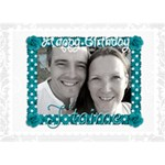 Happy Birthday 3d card - Birthday Cake 3D Greeting Card (7x5)