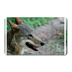 Red Wolf Magnet (rectangular) by AnimalLover