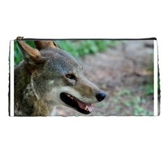 Red Wolf Pencil Case by AnimalLover