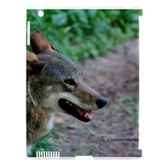 Red Wolf Apple Ipad 3/4 Hardshell Case (compatible With Smart Cover) by AnimalLover
