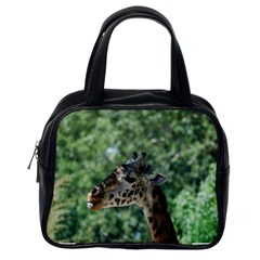 Cute Giraffe Classic Handbag (one Side)