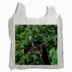 Cute Giraffe Recycle Bag (one Side) by AnimalLover