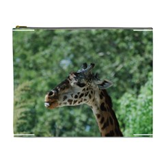 Cute Giraffe Cosmetic Bag (xl) by AnimalLover