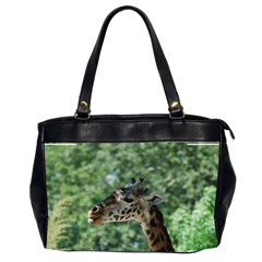 Cute Giraffe Oversize Office Handbag (two Sides) by AnimalLover