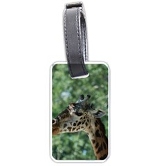 Cute Giraffe Luggage Tag (one Side) by AnimalLover