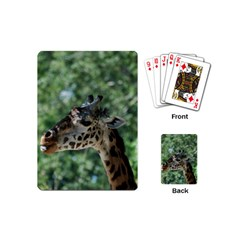 Cute Giraffe Playing Cards (mini) by AnimalLover