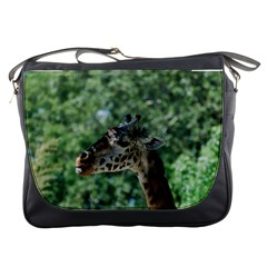Cute Giraffe Messenger Bag by AnimalLover
