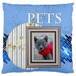 pet - Large Cushion Case (One Side)