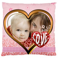 Love By Joely   Large Cushion Case (two Sides)   Hwhjmd74z247   Www Artscow Com Front
