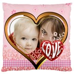 love - Large Cushion Case (Two Sides)