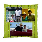men on cruise - Cushion Case (One Side)