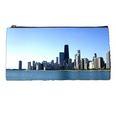 Chicago Skyline Pencil Case by canvasngiftshop