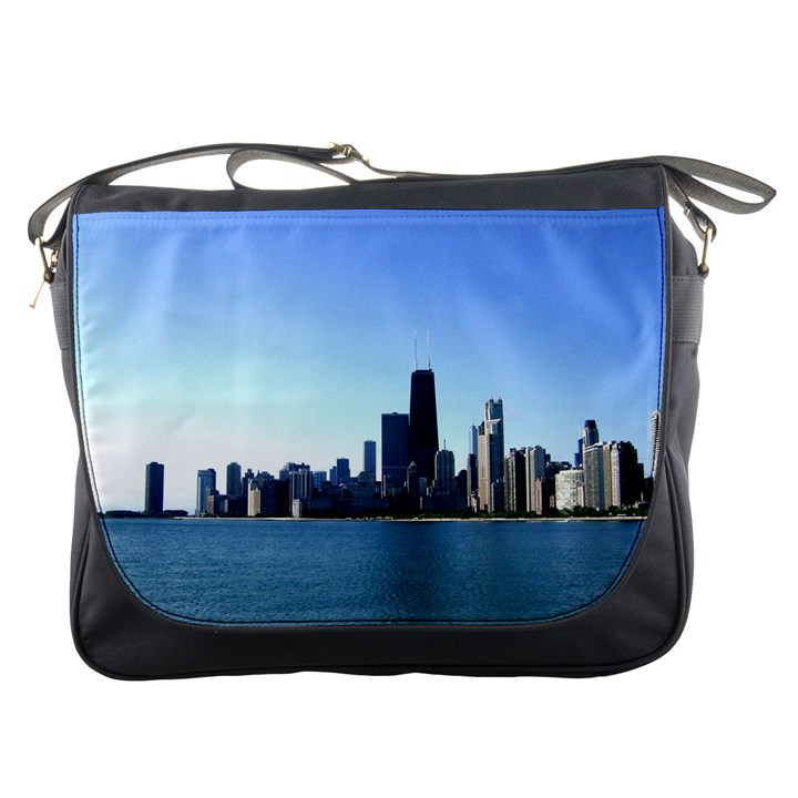 Chicago Skyline Messenger Bag