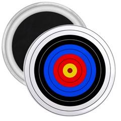 Target 3  Button Magnet by hlehnerer