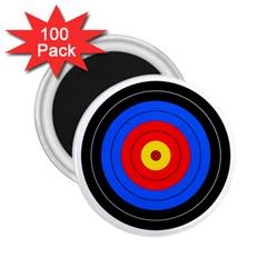 Target 2 25  Button Magnet (100 Pack) by hlehnerer