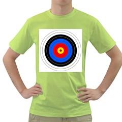 Target Mens  T Shirt (green) by hlehnerer