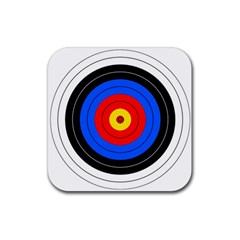 Target Drink Coasters 4 Pack (square) by hlehnerer