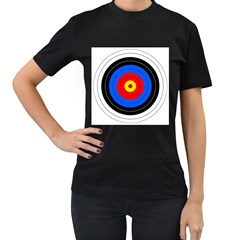 Target Womens' Two Sided T Shirt (black) by hlehnerer
