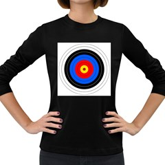 Target Womens' Long Sleeve T Shirt (dark Colored) by hlehnerer