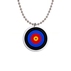 Target Button Necklace by hlehnerer
