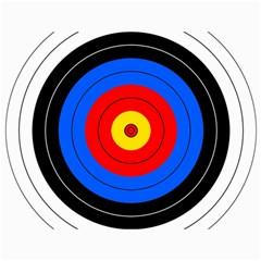 Target Canvas 18  X 24  (unframed) by hlehnerer