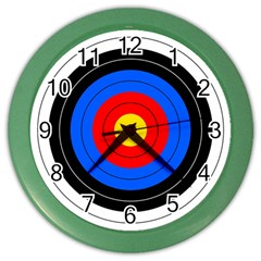 Target Wall Clock (color) by hlehnerer