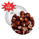 Hazelnuts 2.25  Button (10 pack) Front