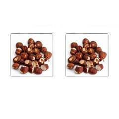 Hazelnuts Cufflinks (square) by hlehnerer