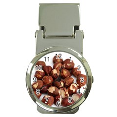 Hazelnuts Money Clip With Watch by hlehnerer