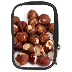 Hazelnuts Compact Camera Leather Case by hlehnerer