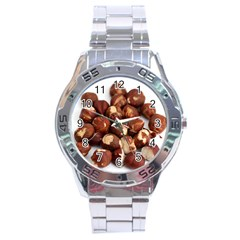 Hazelnuts Stainless Steel Watch (men s) by hlehnerer