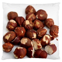 Hazelnuts Large Cushion Case (one Side) by hlehnerer