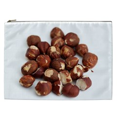 Hazelnuts Cosmetic Bag (xxl) by hlehnerer