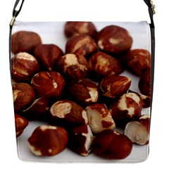 Hazelnuts Flap Closure Messenger Bag (small) by hlehnerer