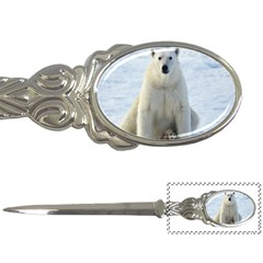 Sitting Polar Bear Animal Letter Opener by FeaturedDesigns