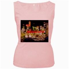 Dabdabcity710 Womens  Tank Top (pink) by dabdabcity710