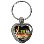 DabDabCity710 Key Chain (Heart) Front