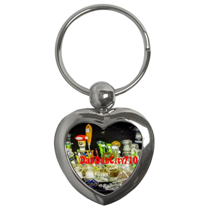 DabDabCity710 Key Chain (Heart)