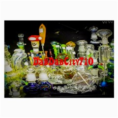 DabDabCity710 Glasses Cloth (Large, Two Sided) by dabdabcity710